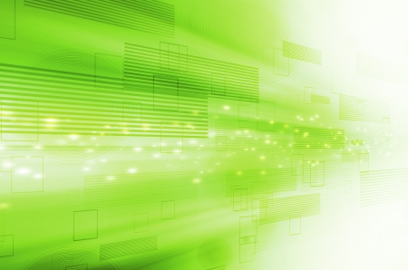 green and yellow: abstract green technology background.