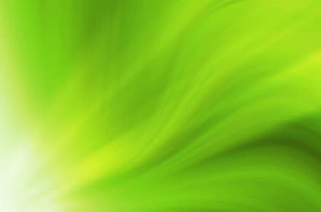 Abstract green curves background.
