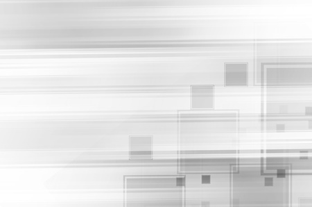 hi tech background: abstract gray lines with square background