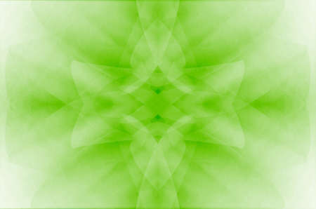greenness: Abstract green curves background.