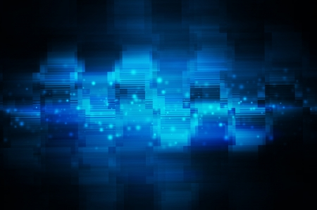 abstract blue technology background.