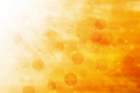 Abstract golden christmas background. Stock Photo - 16190137