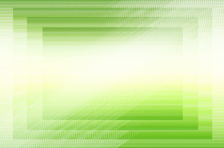 Abstract green line background. photo
