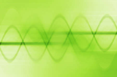 abstract green lines background photo