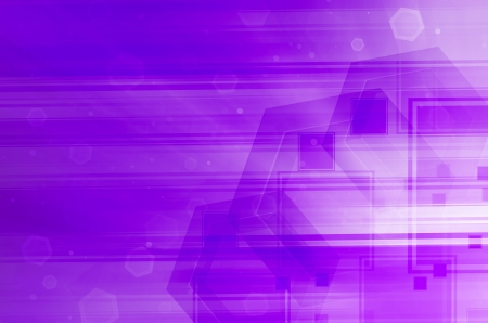 abstract purple technology background photo