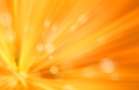 abstract yellow bokeh with speed lines background photo