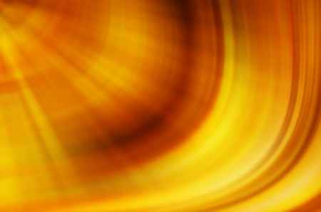 warm colors: abstract yellow curves background