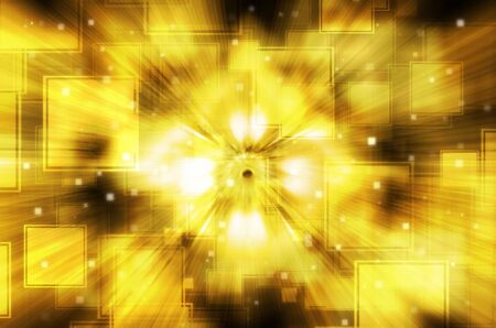 yellow square abstract background. photo