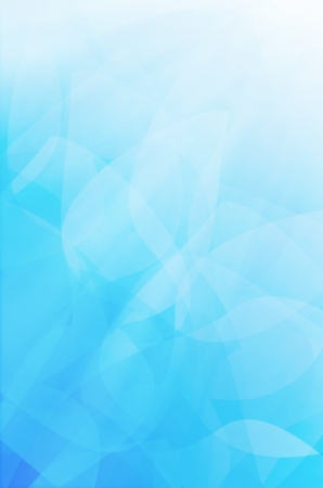 abstract blue curves background.  Stock Photo