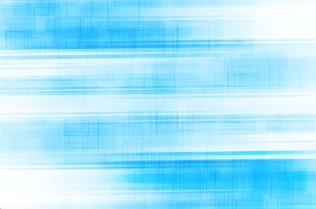 abstract blue lines with square background photo