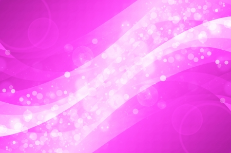 abstract colorful bokeh on pink background  photo