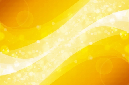 Abstract colorful bokeh on yellow background Stock Photo - 17072292
