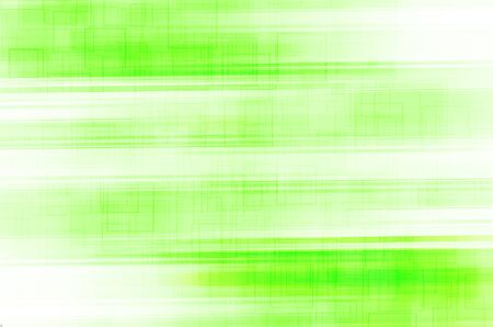 abstract green lines with square background photo