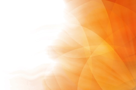 abstract orange curves background Stock Photo
