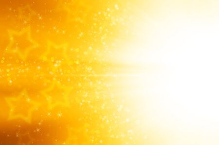 abstract yellow stars background