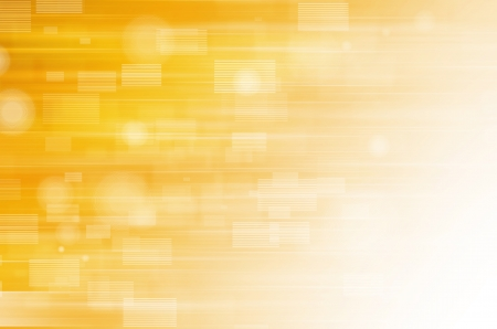 Abstract yellow tech background.  photo