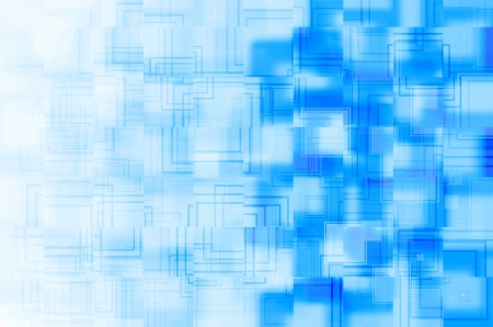 blue square abstract  background  photo