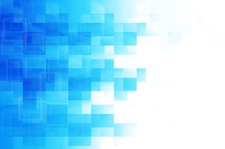 blue square abstract background Stock Photo - 17168740