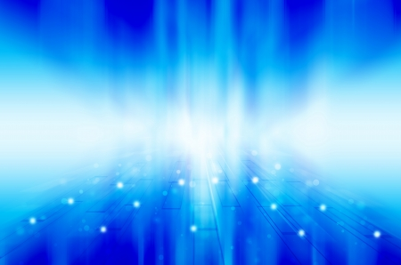 Abstract blue technology background.  photo
