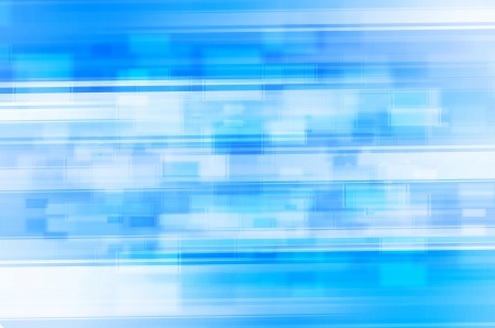 abstract blue tech lines background photo