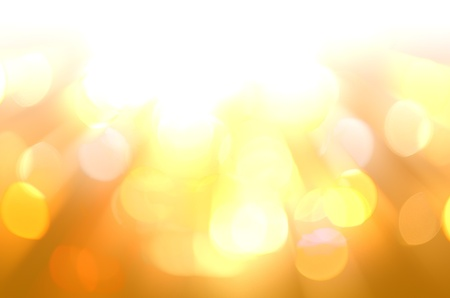 defocused with yellow light background Stock Photo