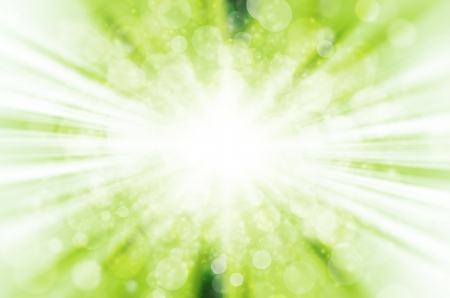 abstract green bokeh light background.