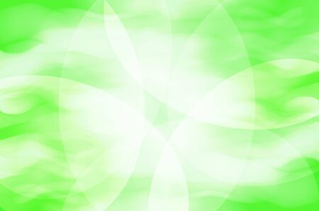 greenness: abstract green curves background