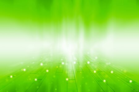 Abstract green technology background.  Stock Photo - 17316109
