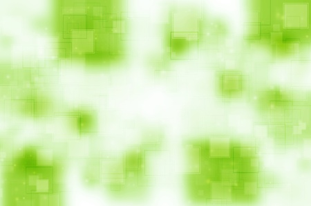 Abstract green with square background. photo