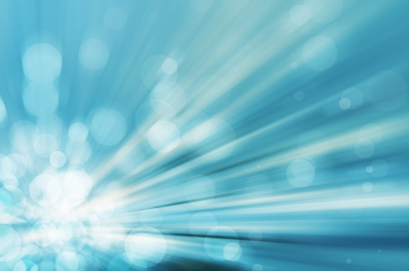 light bokeh with speed lines background Stock Photo - 17338549