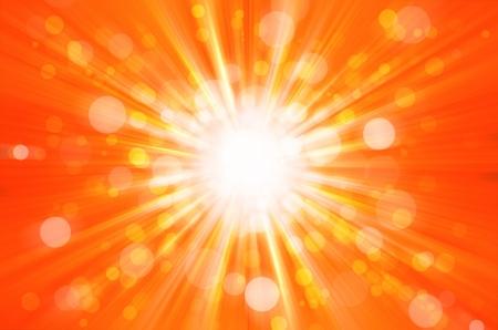orangel bokeh light background
