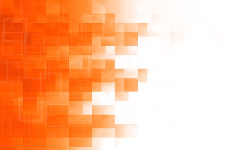 orange square abstract background