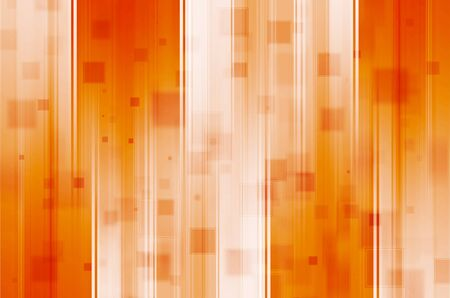 futurist: Abstract orange with square background.