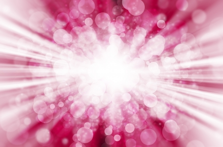 abstract pink bokeh light background.  Stock Photo