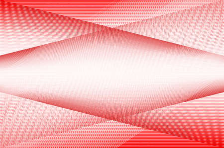 Abstract red line background. Stock Photo - 17418354