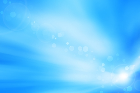 soft blue background and lens flare
