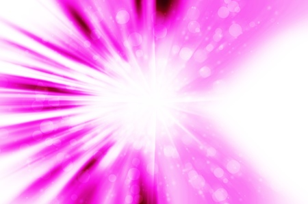 Abstract star light with pink background  Stock Photo - 17418364