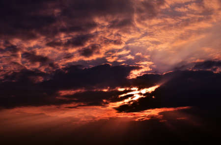 Colorful sky at sunset  Stock Photo - 17418372