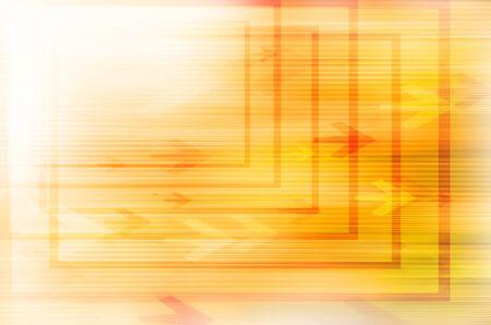 Abstract yellow technolgoy background. Stock Photo - 17450760