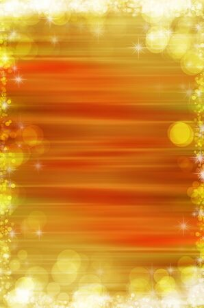 yellow abstract christmas background Stock Photo - 17450752