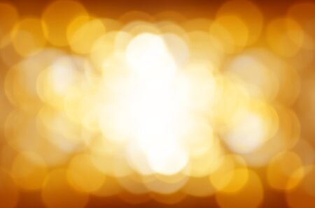 yellow bokeh light background photo