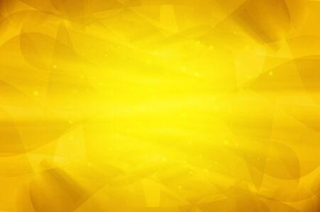 abstract yellow curves background.  Stock Photo - 17502820