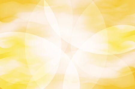 abstract yellow curves background Stock Photo - 17502802