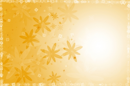 yellow flower abstract background. Stock Photo