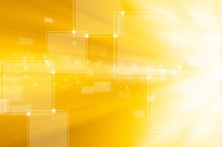 abstract yellow technology background  Stock Photo