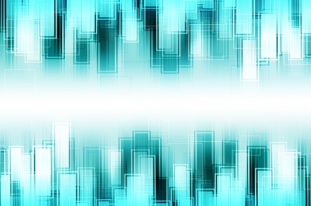 abstract blue square background  photo