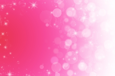 abstract bokeh on pink background Stock Photo - 18265834