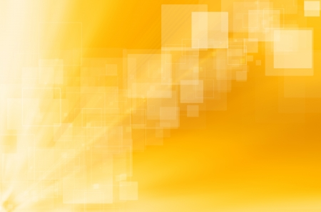 abstract yellow technology background. Stock Photo - 18295936