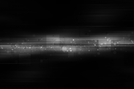 black and white technology background