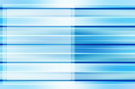 Abstract blue line background with blank area for any content. Stock Photo - 18307198
